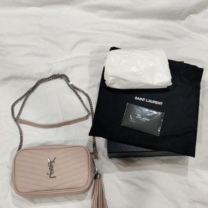Saint Laurent Mini Lou Quilted Leather Bag